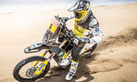 ROCKSTAR ENERGY HUSQVARNA FACTORY RACING SET FOR 2019 DAKAR RALLY ACTION