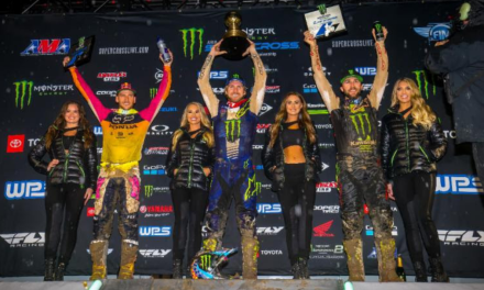 Justin Barcia Wins The 2019 Monster Energy Supercross Anaheim Opener