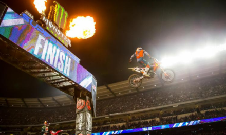 Cooper Webb Wins The First Triple Crown of 2019 at Anaheim 2