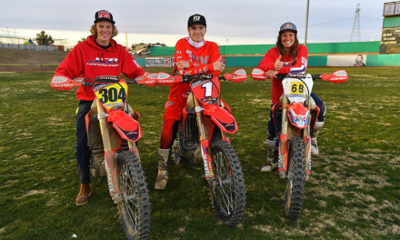 JCR/Honda Racers claim 3 – podium finishes. 1 in each of the Pro classes at the opening round of the 2019 AMA NGPC season
