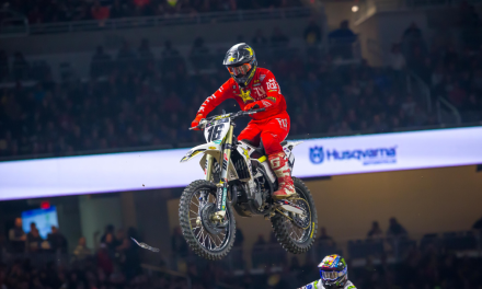 ROCKSTAR ENERGY HUSQVARNA FACTORY RACING'S ZACH OSBORNE RACES TO A TOP-10 FINISH AT DETROIT SX TRIPLE CROWN