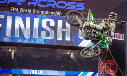 MONSTER ENERGY® KAWASAKI MOTORS TO TRIPLE CROWN SWEEP IN DETROIT