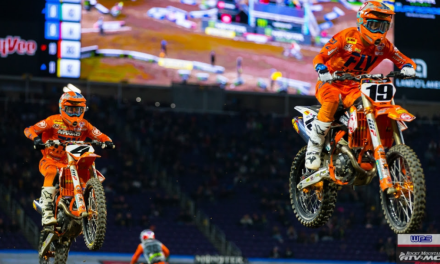 Tough Night for Baggett, Bogle at Minneapolis SX | Team Rocky Mountain ATV/MC-KTM-WPS Race Report