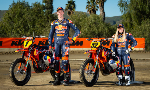 2019 Red Bull KTM Factory Racing Flat Track Team Announced