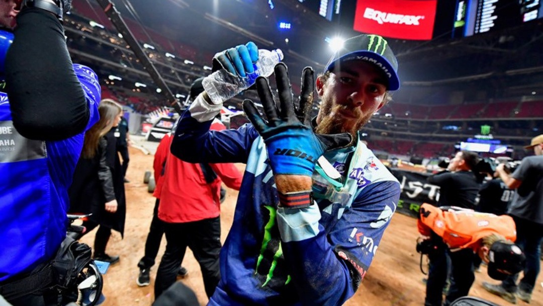 Rookie Plessinger Scores Career-Best Supercross Finish at Atlanta