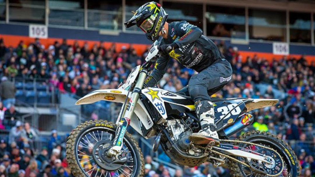 ROCKSTAR ENERGY HUSQVARNA FACTORY RACING'S MICHAEL MOSIMAN HAS A STANDOUT RIDE IN DENVER