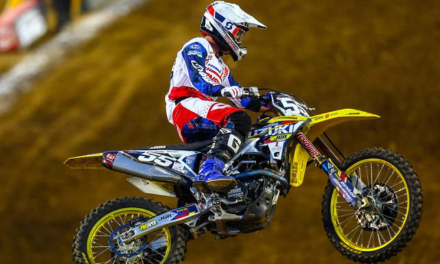 PETERS AND RM-Z250 SCORE BEST SX FINISH IN NASHVILLE