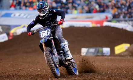 Monster Energy Star Yamaha Racing Team Keep Double Podium Going with East Coast Riders in New Jersey