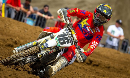ROCKSTAR ENERGY HUSQVARNA FACTORY RACING CLAIMS TWO TOP-FIVE FINISHES AT FOX RACEWAY