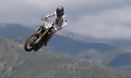 Monster Energy Yamaha Factory Racing Team's Justin Barcia Back In Top-10 At Fox Raceway