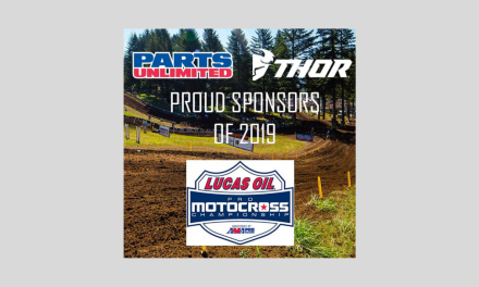 PARTS UNLIMITED ANNOUNCES SPONSORSHIP OF THE 2019 PRO MOTOCROSS  SERIES