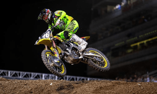MARTIN SCORES BEST SX SEASON RESULT IN LAS VEGAS ON RM-Z250