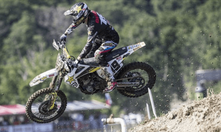 MX2 CLASS RUNNER-UP RESULT FOR THOMAS KJER OLSEN AT MXGP OF RUSSIA