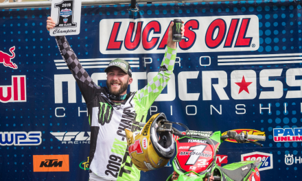 MONSTER ENERGY® KAWASAKI'S ELI TOMAC LEADS KAWASAKI TO 14TH AMA PRO MOTOCROSS CHAMPIONSHIP WITH A SWEEP AT BUDDS CREEK