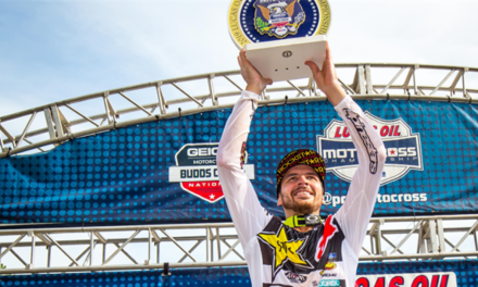 JASON ANDERSON CLAIMS RUNNER-UP FINISH AT BUDDS CREEK NATIONAL