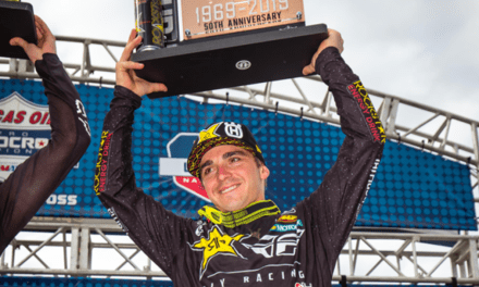 OSBORNE RETURNS TO THE PODIUM WITH THIRD OVERALL AT UNADILLA NATIONAL