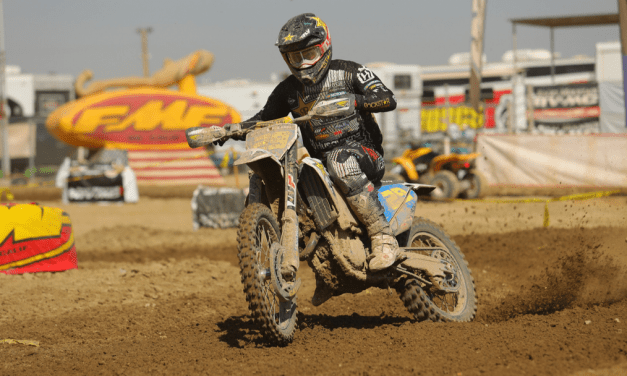 ANDREW SHORT FIGHTS HARD IN DUSTY WORCS CONDITIONS