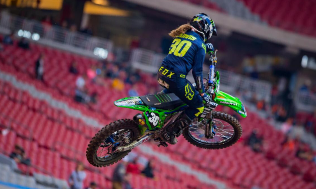 Rising Stars Shine in Glendale during Round 3 of Supercross Futures