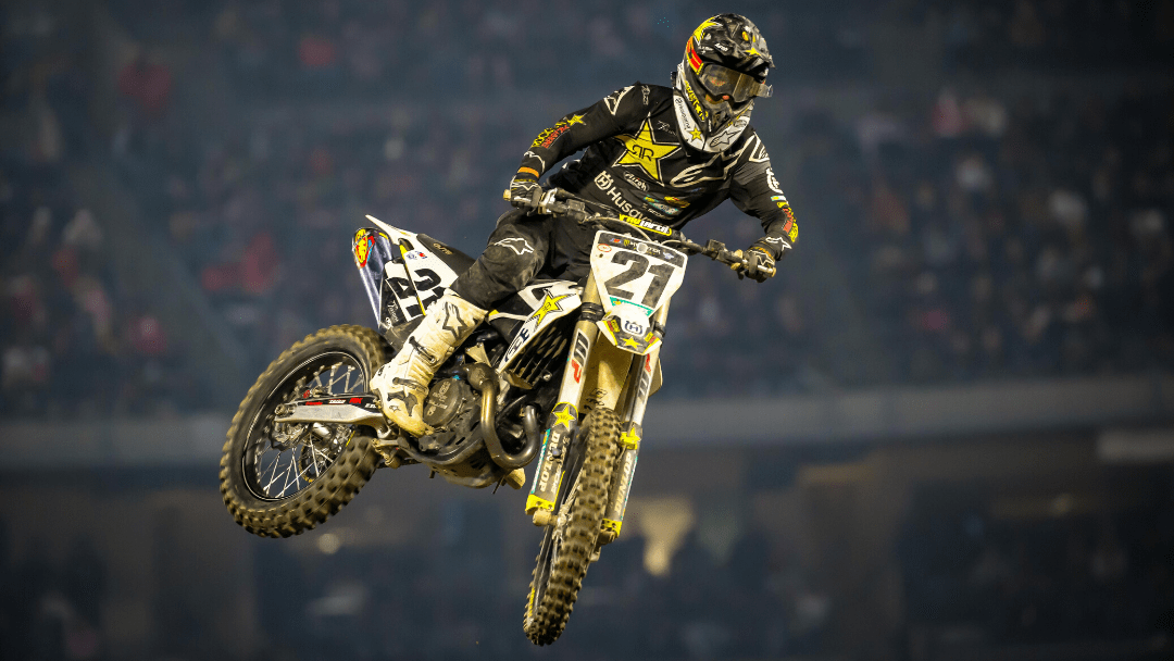 ROCKSTAR ENERGY HUSQVARNA FACTORY RACING CLAIM TWO TOP-FIVE FINISHES AT ANAHEIM SX