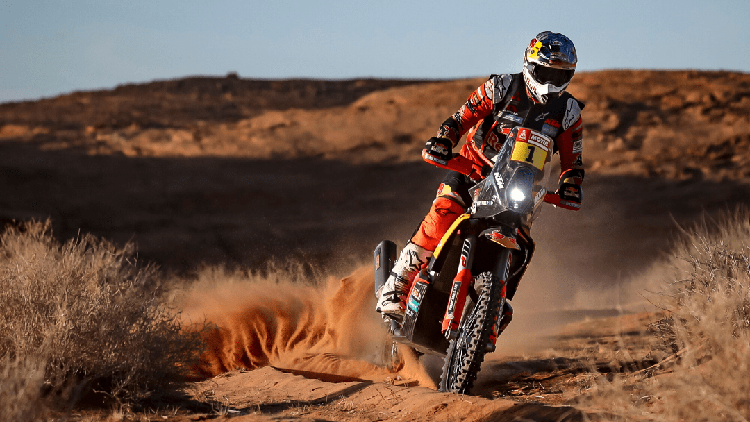 TOBY PRICE TOPS DAKAR STAGE FIVE