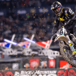 TOP FIVE FINISHES FOR THE ROCKSTAR ENERGY HUSQVARNA FACTORY RACING TEAM AT ANAHEIM II SUPERCROSS