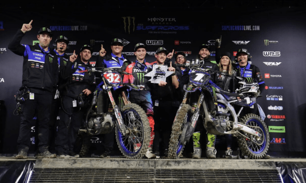 Dylan Ferrandis and Justin Cooper Take 1-2 Finish for Monster Energy Star Yamaha Racing Team in Anaheim 2 Thriller