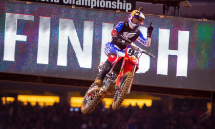 Roczen Secures Second at Arlington Supercross