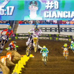 BROC TICKLE RETURNS ON RM-Z450 AT TAMPA SX