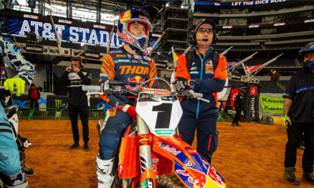 TOUGH NIGHT FOR COOPER WEBB AND RED BULL KTM AT ARLINGTON SX TRIPLE CROWN