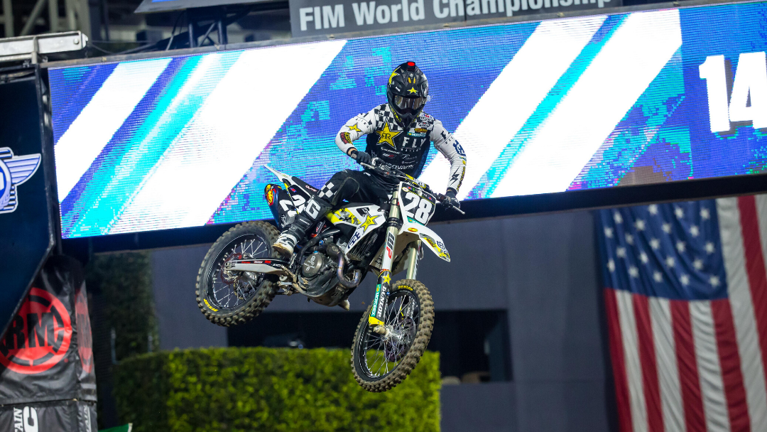 MOSIMAN SCORES A TOP-FIVE FINISH AT SAN DIEGO SUPERCROSS