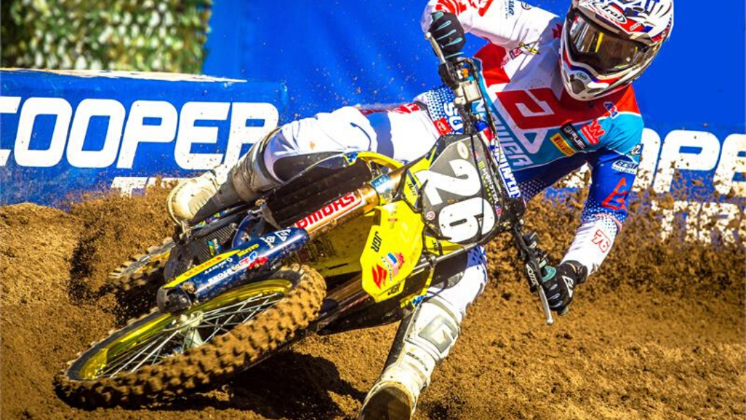 MARTIN & SUZUKI TOP 10 AT SAN DIEGO SUPERCROSS