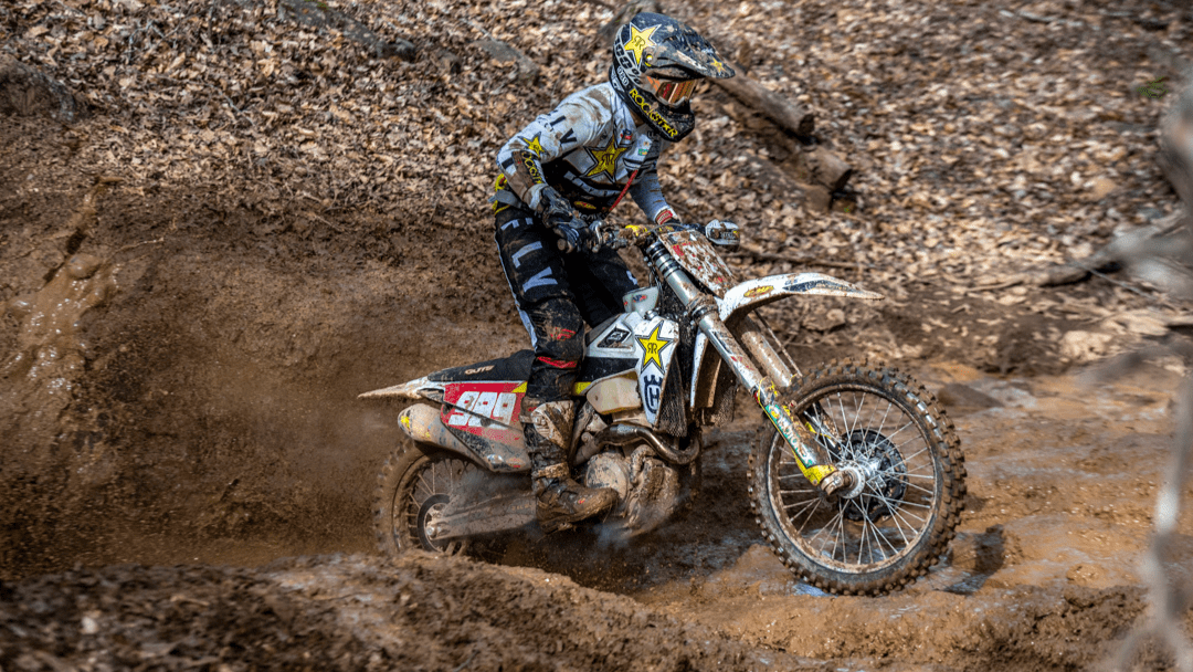 TOUGH DAY FOR THE ROCKSTAR ENERGY HUSQVARNA FACTORY RACING TEAM AT GNCC SEASON OPENER