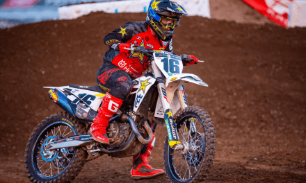 BIG STRIDES FOR OSBORNE AND THE ROCKSTAR ENERGY HUSQVARNA FACTORY RACING TEAM