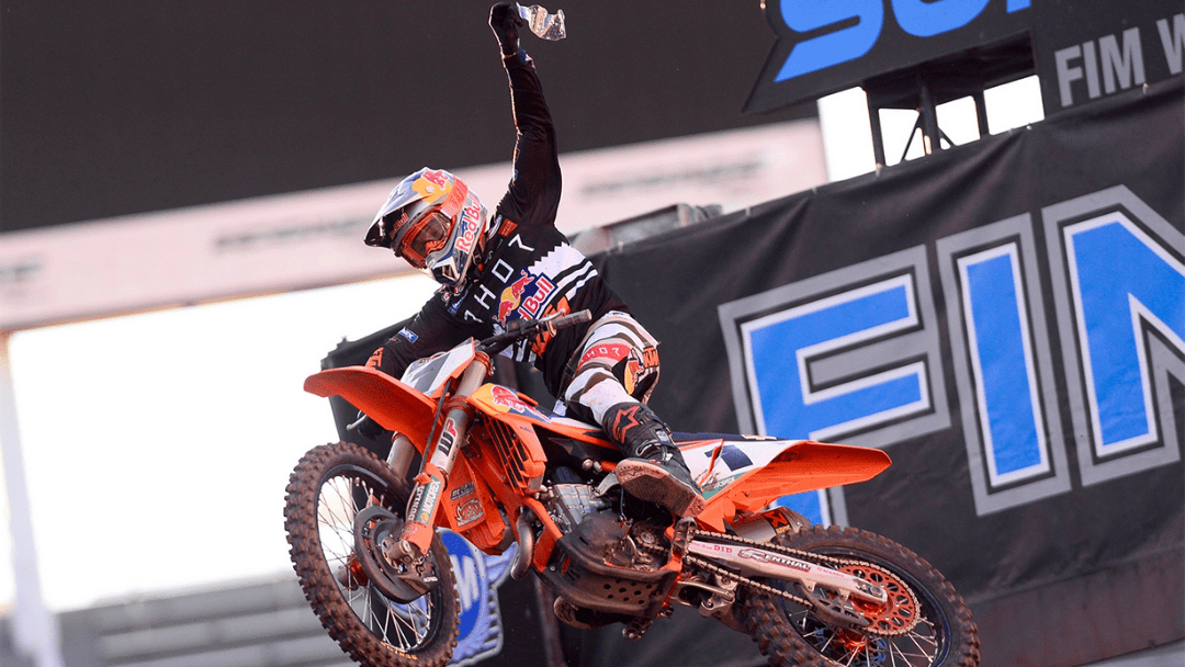 WEBB TAKES 450SX CHAMPIONSHIP DOWN TO THE FINALE WITH A HARD-FOUGHT WIN IN SALT LAKE CITY