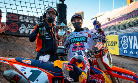 WEBB DOMINATES IN SALT LAKE CITY FOR ROUND 14 OF AMA SUPERCROSS CHAMPIONSHIP