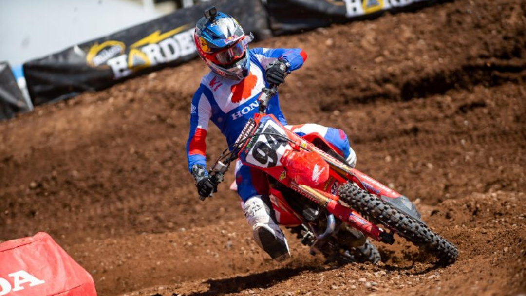 Podium Finish for Roczen in Salt Lake City, as AMA Supercross Resumes