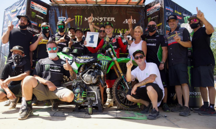 Kawasaki Team Green™ Grabs Six Championships and 25 Moto Wins at the Monster Energy® AMA Amateur National Motocross Championships at Loretta Lynn's Ranch