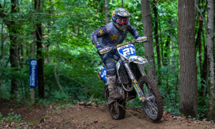 ROCKSTAR ENERGY HUSQVARNA FACTORY RACING TEAM'S CRAIG DELONG SCORES A PODIUM FINISH AT LITTLE RACCOON NATIONAL ENDURO