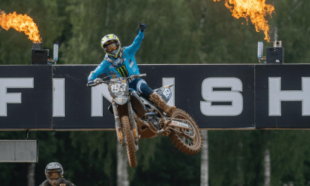 Geerts Strikes Back with 1-1 Victory at MX2 Round of Riga