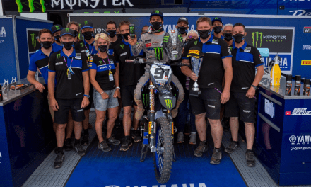Seewer Celebrates First Podium Finish of 2020