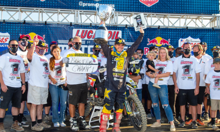 ZACH OSBORNE IS CROWNED 2020 AMA 450MX CHAMPION AT SEASON FINALE