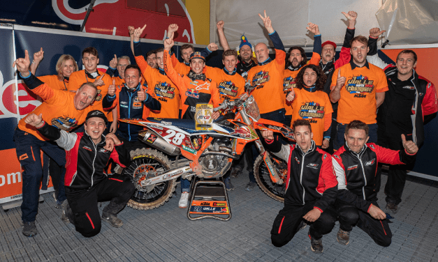 TOM VIALLE SECURES KTM'S 13TH FIM MX2 WORLD CHAMPIONSHIP TITLE!
