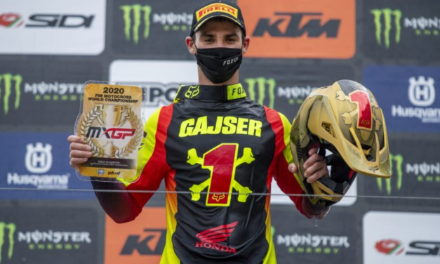 2020 MXGP Champion Tim Gajser seals title with MXGP of Pietramurata victory