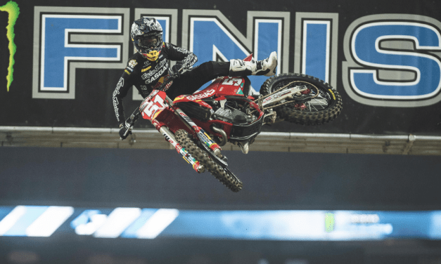 TROY LEE DESIGNS/RED BULL/GASGAS FACTORY RACING ON THE GAS IN HOUSTON