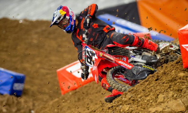 Second-Place Finish for Roczen at AMA Supercross Season Opener in Houston