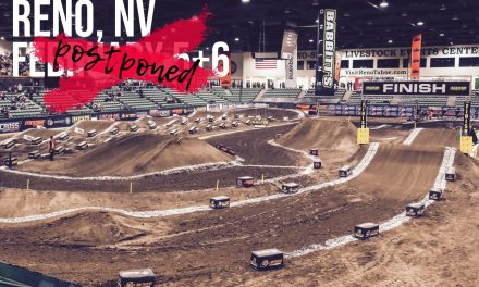 Arenacross news – Reno, NV: Rounds 7 & 8 Postponed