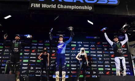 Monster Energy Star Yamaha Racing's 250SX East Team Scores Sixth Double Podium at Orlando 1