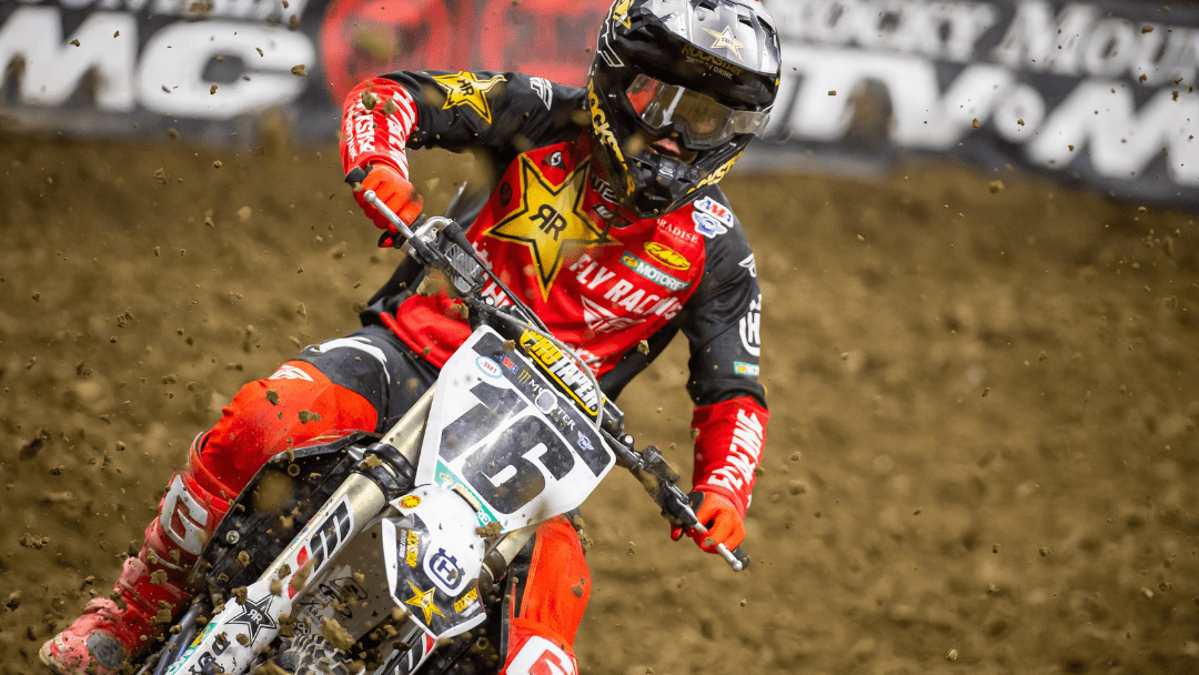 TOP-10 FINISH FOR ZACH OSBORNE AT INDIANAPOLIS SX #2