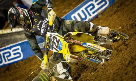 SUZUKI RIDERS BATTLE HARD AT ORLANDO SX