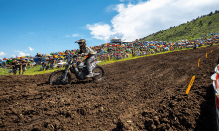 HAMPSHIRE SHINES BRIGHT AT THUNDER VALLEY WITH A FIRST-MOTO PODIUM IN 250MX CLASS